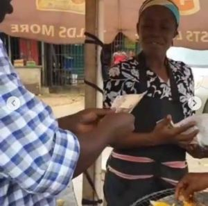 Leke Adeboye Gifts Corn Seller Money After Watching Her Pray