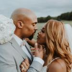 Photos Phil Thompson Weds Takiyah Romain