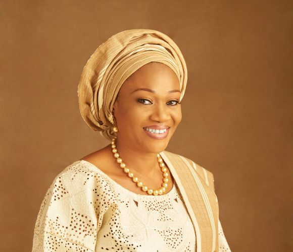 senator remi tinubu led her to christ