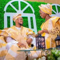Photos From Darasimi Bamiloye & Lawrence Oyor Traditional + Church Wedding