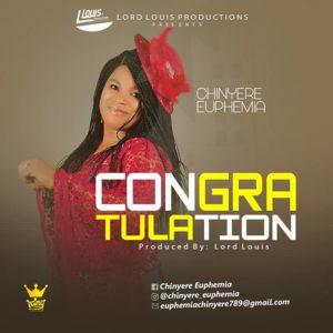 Chinyere Euphemia   Congratulation