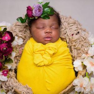 Photos: Gospel Artiste Aghogho Announces The Birth Of Her Daughter