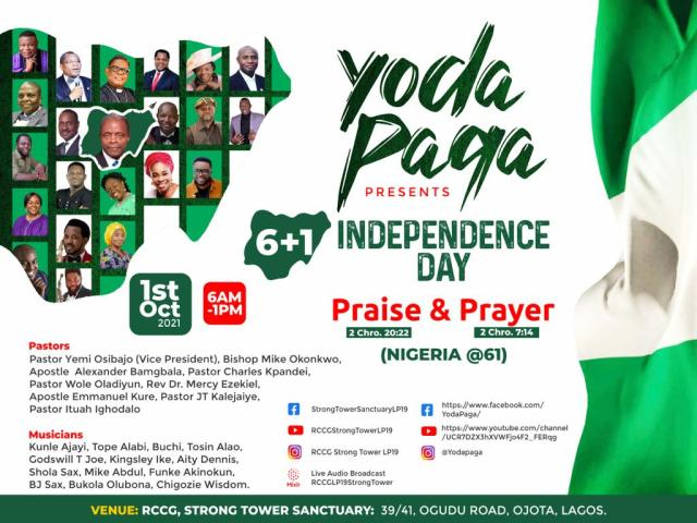 Osibanjo, Okonkwo, Tope Alabi, Mike Abdul & More To Be At