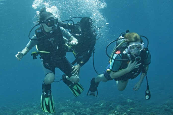 Bali Open Water Dive course