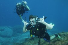 Dive course in open water