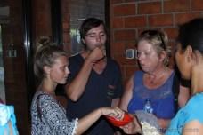 Ochutnávka kešu na Bali