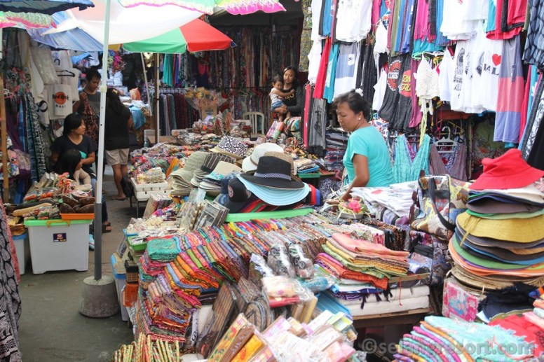 Ubud market when you can buy all