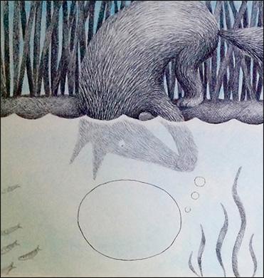 Fox Underwater, Anne Hunter, Illustrator