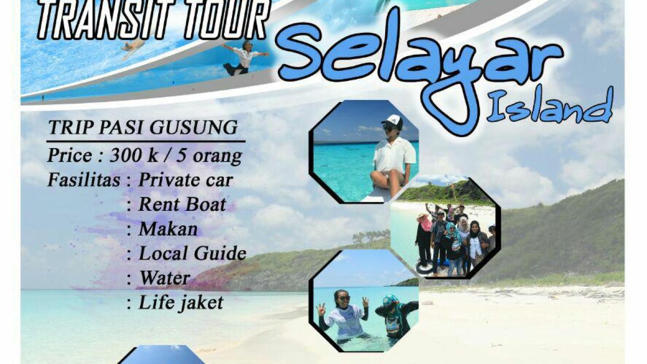 Berikut Harga Paket Wisata Trip Bahuluang Pulau Pasi Gusung Oleh Go Selayar Island Selayarnews Com