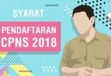 Syarat pendaftaran cpns 2018