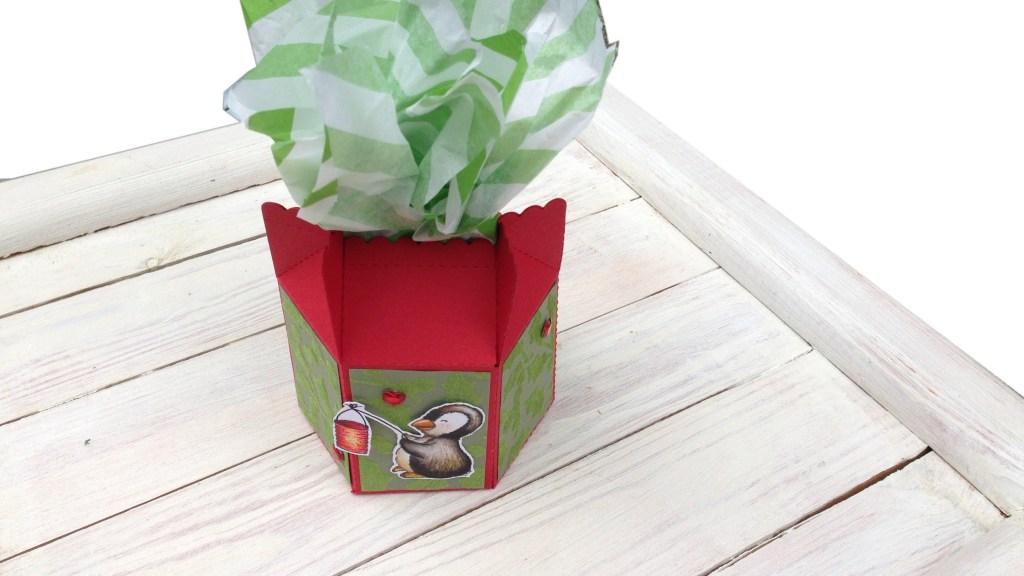 sechseck Schachtel