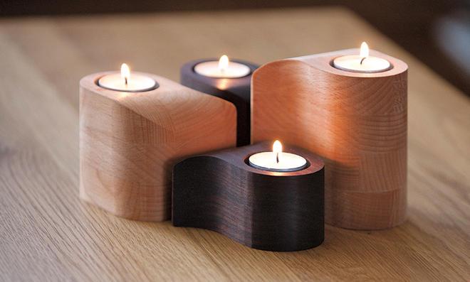 Adventskranz aus Holz basteln selbst.de