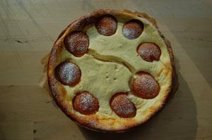 Früchte-Topfen-Torte