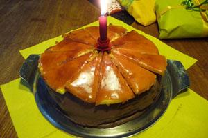 Dobos, ungarisch, Karamell-Torte, Buttercreme-Torte, József Dobos
