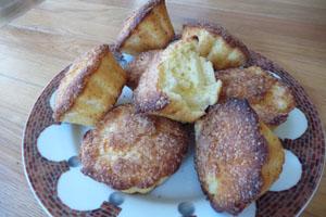 Muffins, Mini-Kuchen, Ananaskuchen, Törtchen
