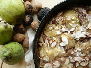 Herbstkuchen, Birnenkuchen, Rührkuchen, Nusskuchen, Schokokuchen
