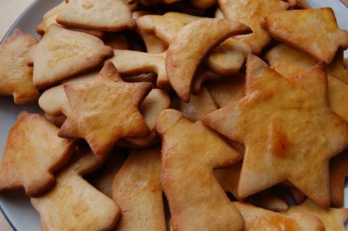 Rezepte Muerbteig-Marzipan-Kekse
