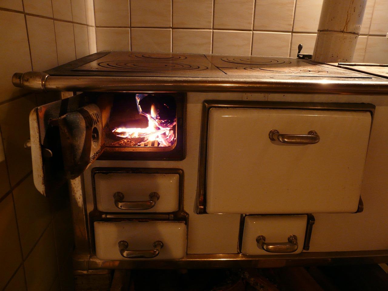 Alter Küchenherd