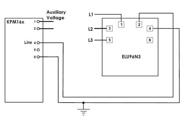 ELU96N3 Connection Diagram SELCO USA
