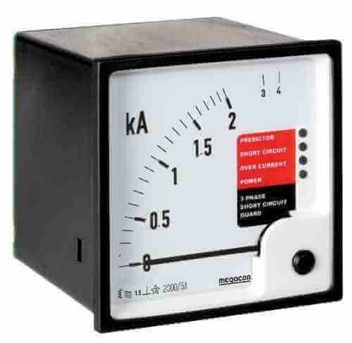 KEC115, KEC116, KEC117 Short Circuit Overcurrent Protection, Analog Output SELCOUSA