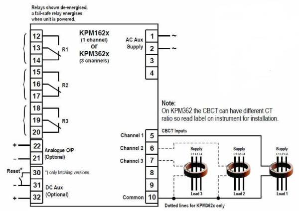 KPM162 KPM362 Connection Diagram SELCO USA