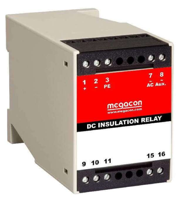 KRM161-DC Insulation Monitor for Non-Live Systems SELCO USA