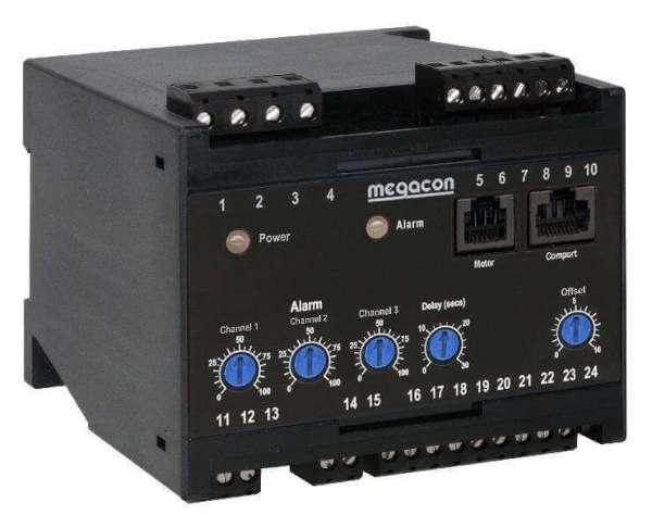 KCM363x Three Channel AC Ground Fault Monitor SELCO USA