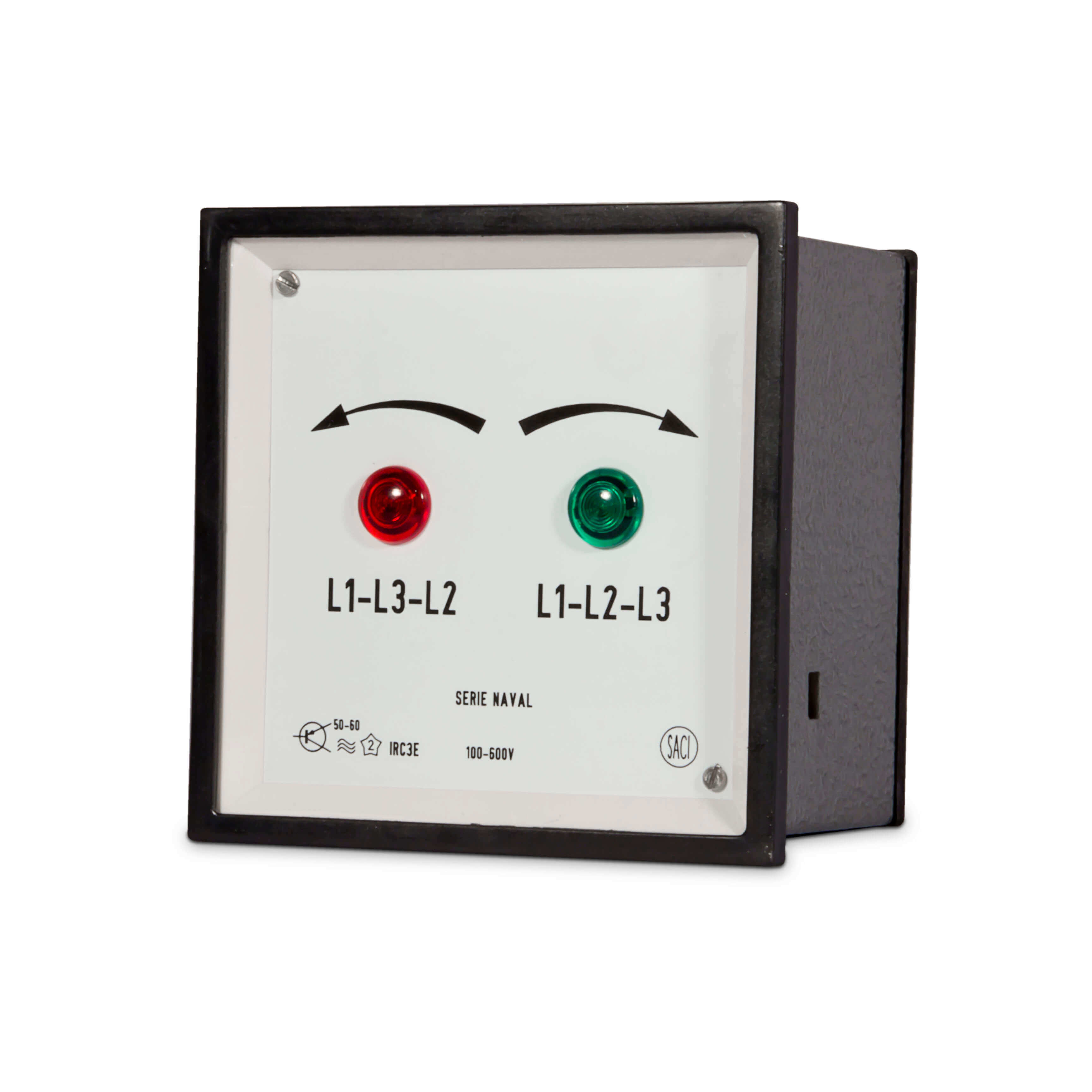Phase Sequence Meter Din Size Selco Usa Current Relay