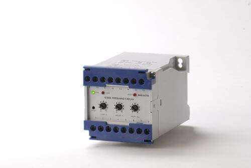 G3000 Frequency Relay, Aux 24VDC, Over Frequency and Under Frequency