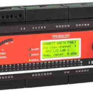 ISOPAK208 DC Ground Fault Monitor, Output Relay, Analog Output (8 Channels)