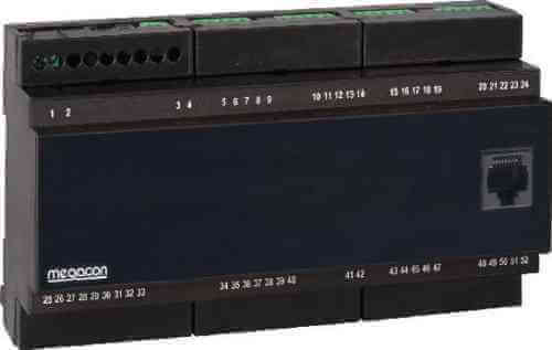 ISOPAK208W DC Ground Fault Monitor, Output Relay, Analog Output (8 Channels)