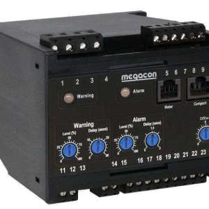 KCM362 AC Ground Fault Monitor, Output Relay, optional Analog Output (3 Channel)