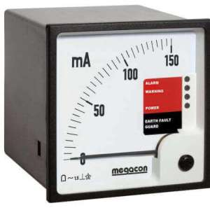 KPM362 AC Ground Fault Monitor, Output Relay, optional Analog Output (3 Channels)