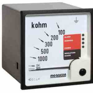 KPM163FQ Insulation Monitor, System Voltage up to 1.4kV with Non-Latching Output, Analog Output, Special for Frequency Converter Systems