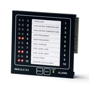 M1000 Alarm Monitor, 24VDC, 10 Channel, RS485-Modbus