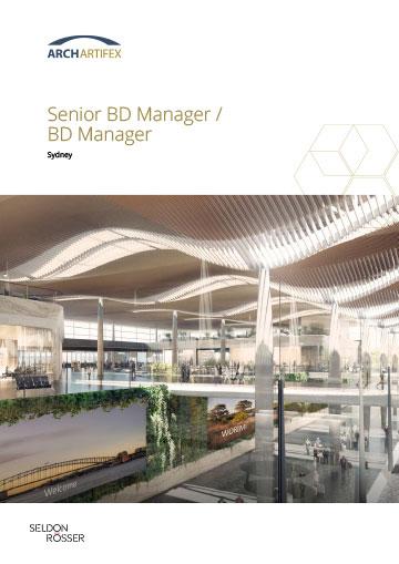 Seldon Rosser - ArchArtifex - Senior BD Manager -BD Manager