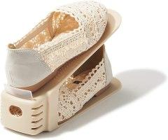 ライクイット (like-it) 靴 収納 靴ホルダー スリム 6個入 ベージュ 幅8x奥26x高13.5cm 197449
