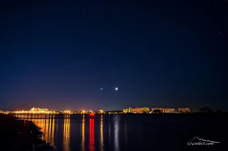 ふたご座流星群・初日の出シンデレラ城と撮影する東京の穴場!葛西臨海公園冬場がおススメ空の抜ける風景