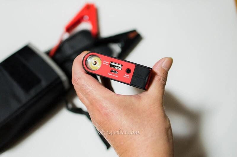 バッテリー上がりの優れもの!旅先で慌てないジャンプスターター!小型ジャンプスターター