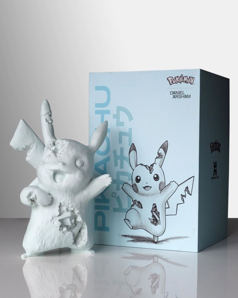 DANIEL ARSHAM: BLUE CRYSTALIZED PIKACHU