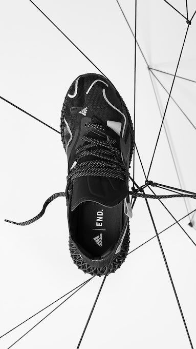 END. x adidas Evo 4D « Dark Matter »