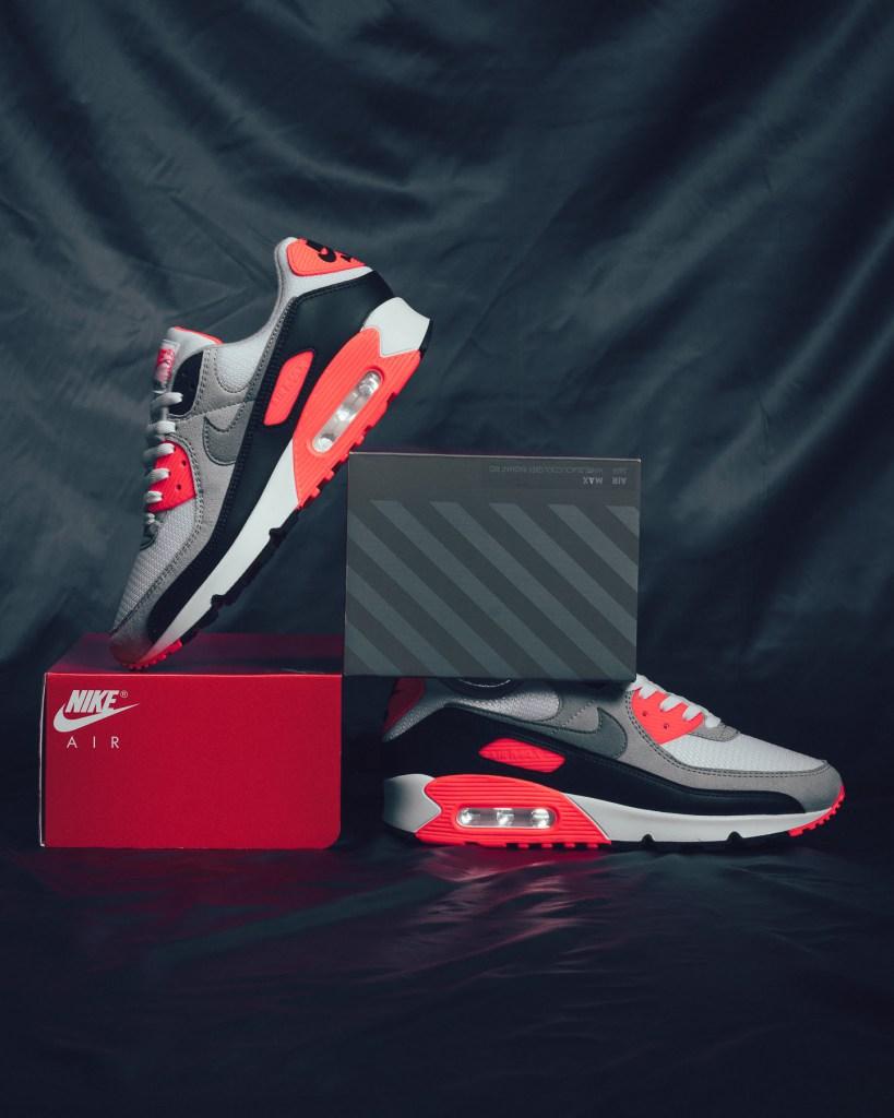 Nike Air Max 3 « Radiant Red » aka Air Max 90 OG « Infrared »