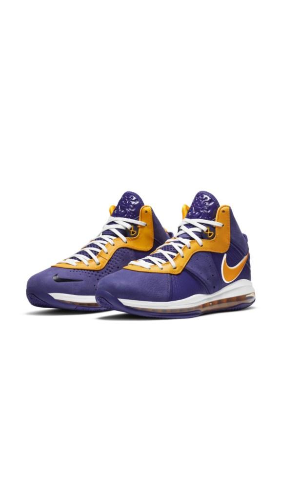 Nike LeBron 8 « Lakers »