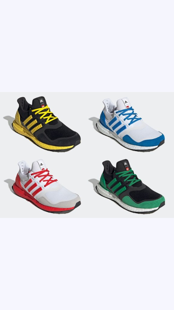 LEGO x adidas Ultra Boost DNA « Color Pack »