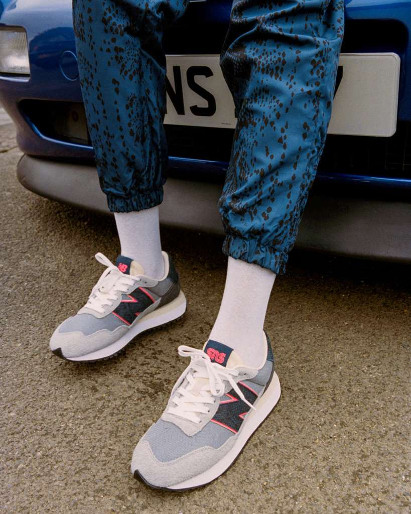 Collection SNS x New Balance « Blue Racer »