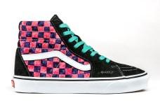awake-ny-vans-sk8-hi-checkerboard-black-pink-3
