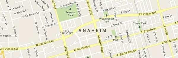Anaheim-map