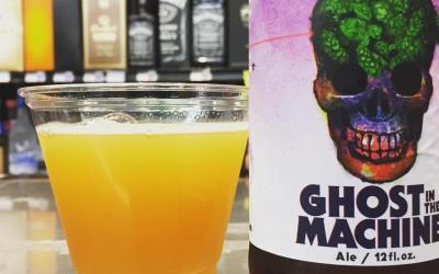 A little less than one hour until our @parishbrewingco Ghost in the Machine release at…