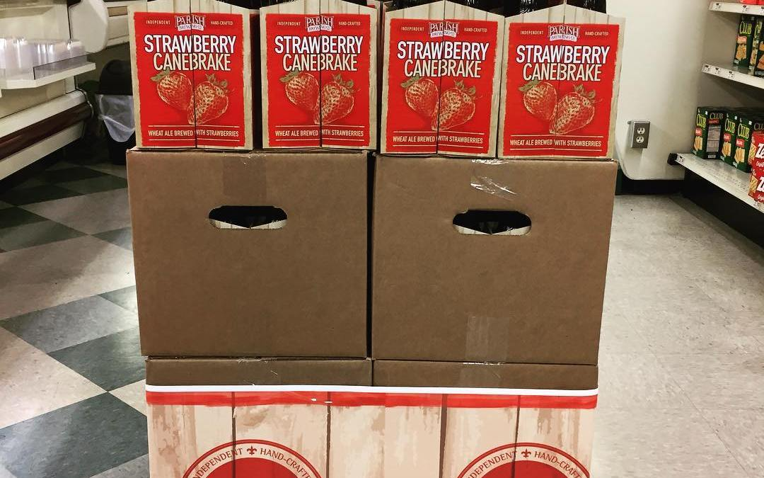 Still a good bit of @parishbrewingco Strawberry Canebrake left at our Perkins Rd location for…
