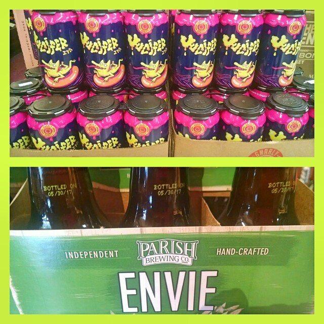 More fresh, local hops in stock @calandrosmkt Perkins Rd! @gnarlybarley Jucifer *limit 1 6pk per…